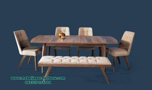 meja makan mewah modern cafe janji jiwa smm-339