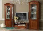 Set bufet tv jati klasik Jepara terberu siena Bt-168