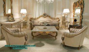 Gambar produk sofa ruang tamu elegan mewah golden living room Sst-372