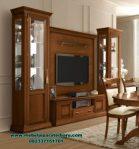 Harga set bufet tv kayu jati Jepara treviso Bt-171