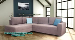 harga sofa kursi tamu sudut l minimalis modern aida sst-367