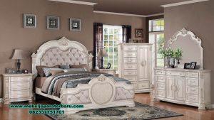 model set tempat tidur pengantin modern terbaru milan stt-195