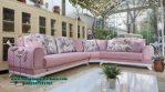 Sofa ruang tamu kecil desain modern minimalis pink colour Sst-363
