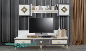 bufet tv minimalis retro terkini modern Bt-186