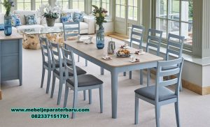 meja makan minimalis kualitas furniture jepara smm-358