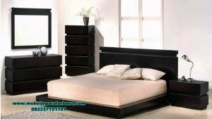 Model set tempat tidur modern minimalis mebel Jepara terbaru Stt-200