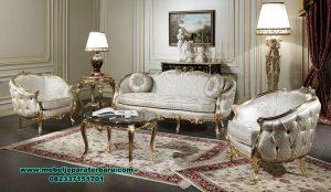 Model sofa tamu klasik italian living room Sst-378