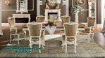 set meja makan klasik luxury diana Smm-359