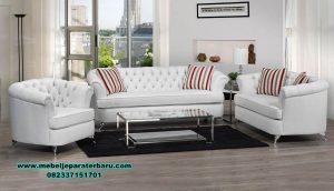 Gambar sofa ruang tamu minimalis modern beverly Sst-383