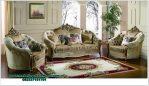 Harga kursi sofa ruang tamu mewah belgium Sst-386
