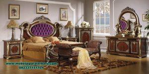 Mater bedroom set klasik termewah king size Stt-212