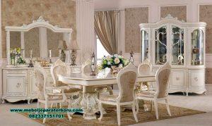 Set meja makan klasik duco modern stolovaya Smm-379