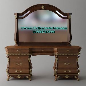 Produk meja rias jati klasik modern ayaana Mrk-164