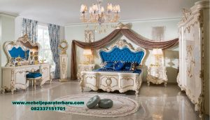 Set kamar tidur duco model klasik mewah tugrahan luks Stt-222