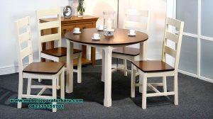 Set meja makan minimalis sederhana terbaru Smm-380