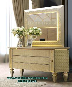 Set meja rias elegan modern terbaru shopia Mrk-170