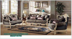 set sofa ruang tamu royal classic termewah sst-401