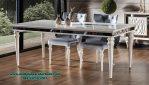 desain set meja makan valentin duco modern mewah smm-396