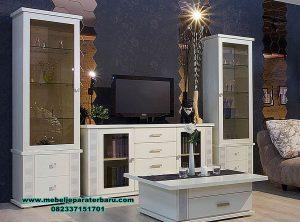 design set bufet tv duco mewah modern model minimalis bt-192