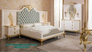 set kamar classic bed room new design luxury duco stt-239