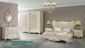 Set kamar tidur duco mewah roveta klasik Stt-235