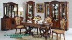 set meja makan klasik jati mewah kualitas terbaik mebel jepara smm-389