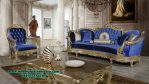 Sofa tamu putana klasik finishing duco gold Sst-413