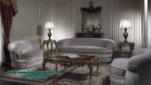 set sofa tamu klasik modern blossom living room sst-418