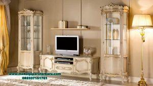 set bufet tv duco putih modern mewah by alexaviera bt-197