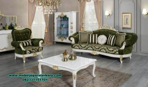 model kursi sofa tamu luxs klasik turkey duco sst-439