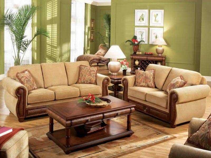 Set Sofa Tamu Minimalis Kayu Jati Sst 017