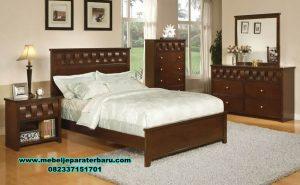 kamar set minimalis modern kayu jati model bianca stt-198