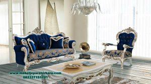 1 set sofa tamu klasik duco mewah entepe koltuk sst-375