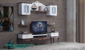 bufet tv set model minimalis terbaru duco putih bt-185