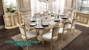 Gambar produk meja makan modern putih aida Smm-352