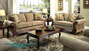 jual furniture set sofa tamu kayu jati luxury furniture sst-373