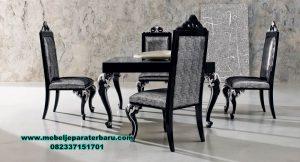 Produk set meja makan klasik dining table Smm-355