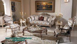 Set kursi tamu sofa mewah klasik venturer kualitas terbaik Sst-377
