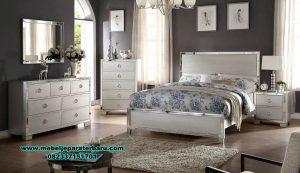 set tempat tidur duco modern putih berkualitas stt-205