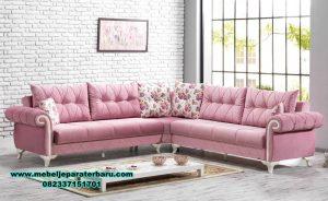 sofa tamu sudut modern berkualitas mebel  jepara sst-374