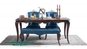 set meja makan modern model minimalis venedik Smm-377