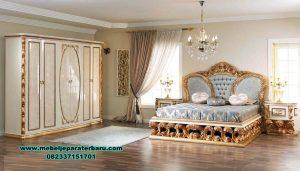 Interior bed room set ukiran klasik mewah sorguc classic Stt-223