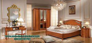 Kamar set kayu jati mewah kualitas furniture Jepara Stt-229
