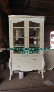 Lemari pajangan model cabinet minimalis modern Lh-071