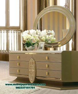Meja konsul rias minimalis mewah bed room set Mrk-171