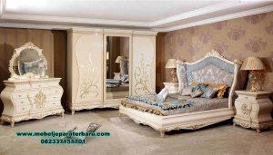 Set tempat tidur modern klasik duco tugrahan Jepara terbaru Stt-224