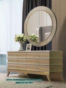 set meja rias dresser table modern minimalis ivanna mrk-172