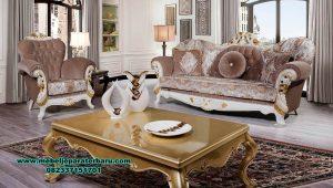 Set sofa tamu klasik mewah santana Sst-414