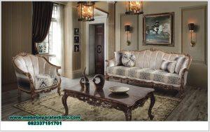 Set sofa tamu model klasik mewah safir Sst-412