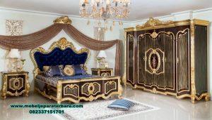 set tempat tidur luks klasik zaskia design stt-233